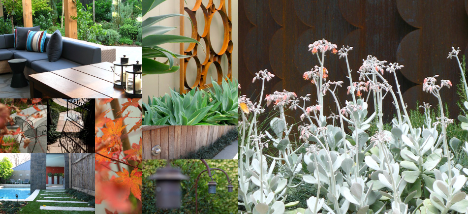 Gardens, landscapes, outdoor areas, screens and pots designed, constructed and maintained by Gardens of Melbourne