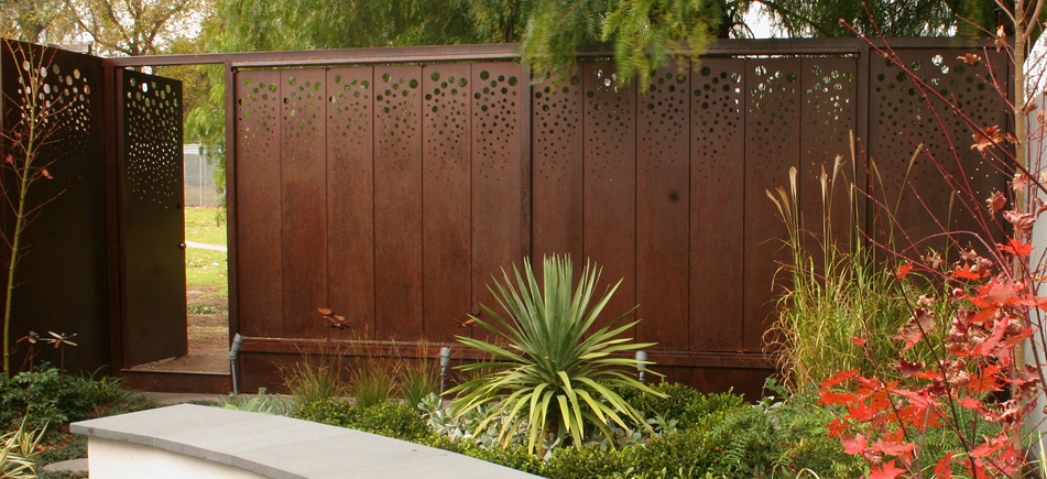 Gardens of Melbourne: Metal Work: Landscapes and Gardens, Advice, Design, Construction and ...